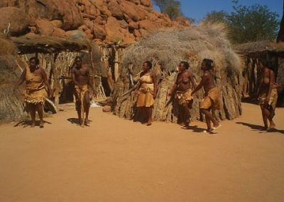 Anticipation - Tribal group in Namibia