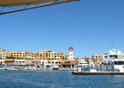 Cabo from the fishing boat