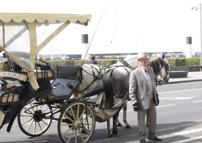 Chase | Azores - 6819-gentleman carriage driver