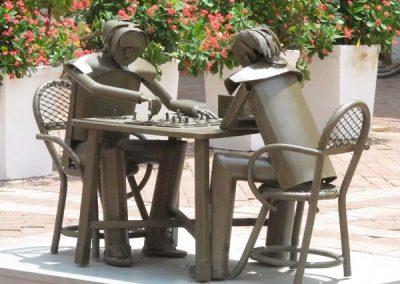 Chase | Cartagena Columbia - 5819-iron statues