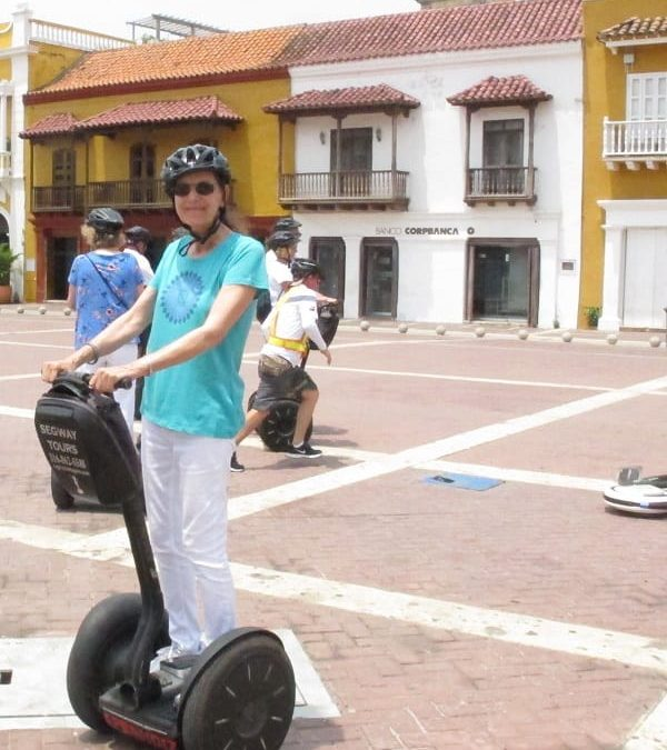 Day 90 | Cartagena, Colombia  | Segway Tour Old Town