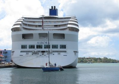 Chase | St Lucia 1 -Private meets public ship