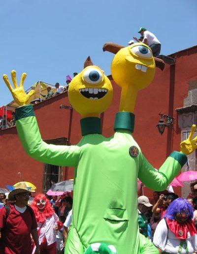 Crazy costumes