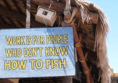 Cute sign in Cabo