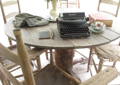 Typewriter used for the book, The Yearling